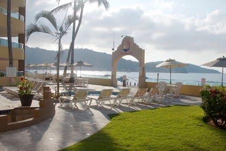 Condo 1002 en renta frente al mar - Rincón de Guayabitos  - Appartement