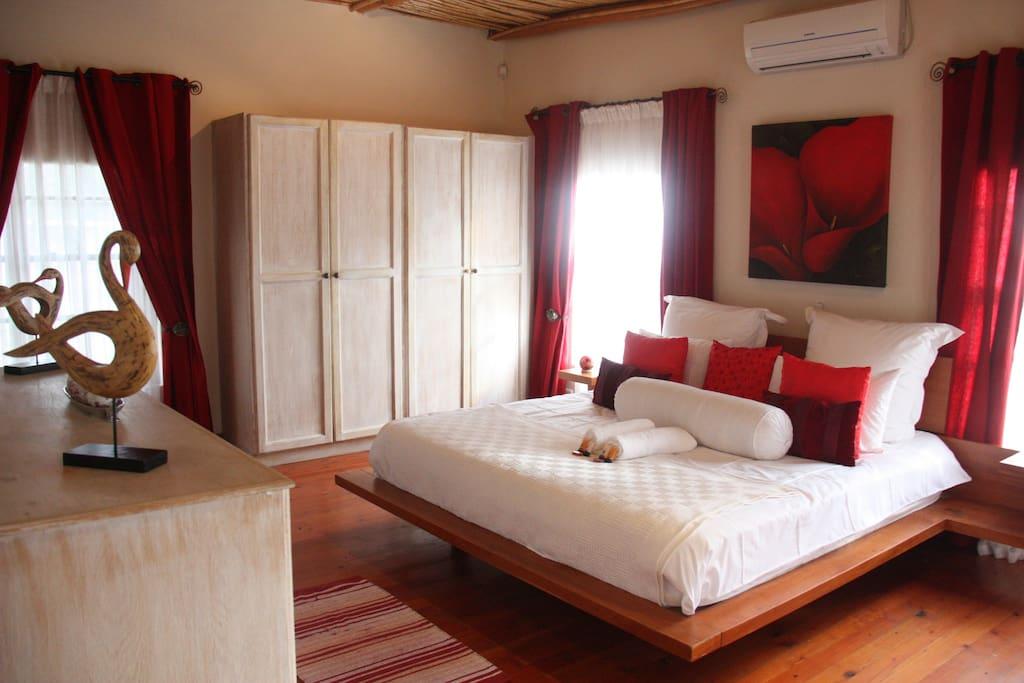 Kleinvallei Family Cottage Bedroom