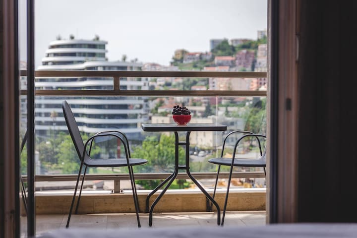 BLUE MARLIN BUDVA - Comfort 1BD / Sea View+Terrace