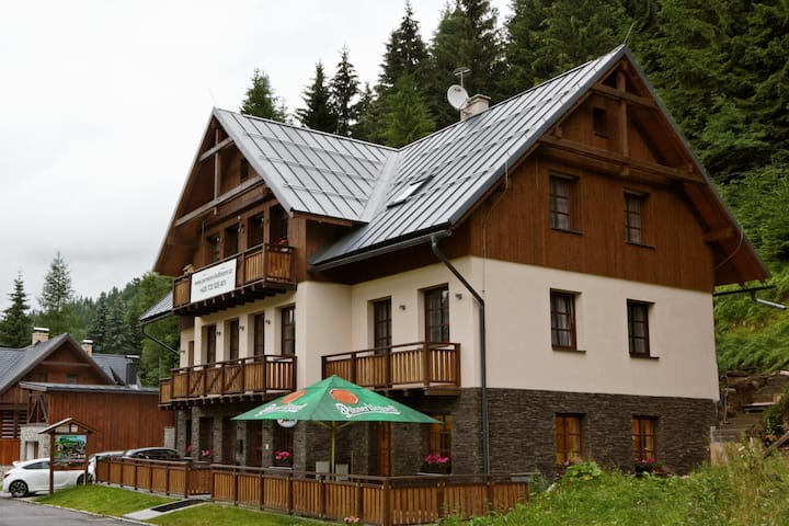 New Pension in quiet part of Harrachov :)