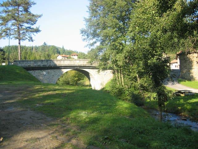 Dans la vallée du Doulon. - Saint-Vert - Casa