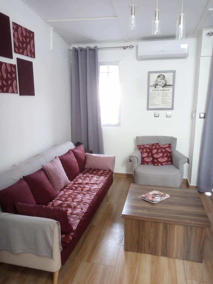 Résidence La Rosée : Bel appartement 2 pièces