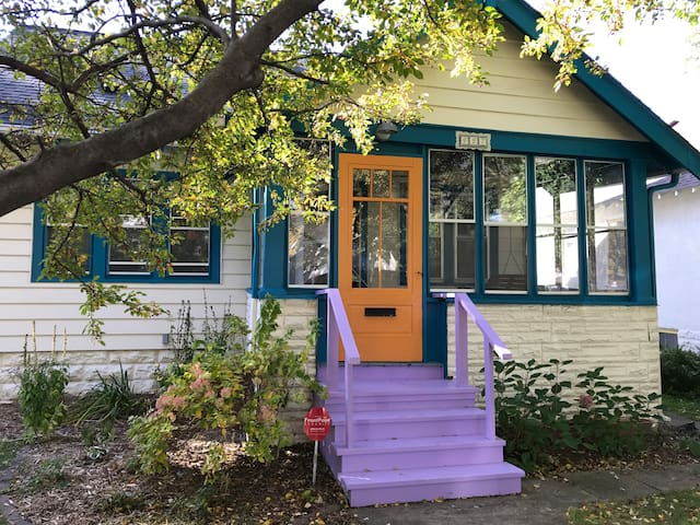 Colorful St. Paul Bungalow