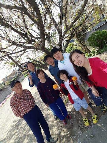 伊勢まつさか農園ハウスは、回りを畑で囲まれた民家スタイルの民泊です。 - Matsusaka-shi - Dom