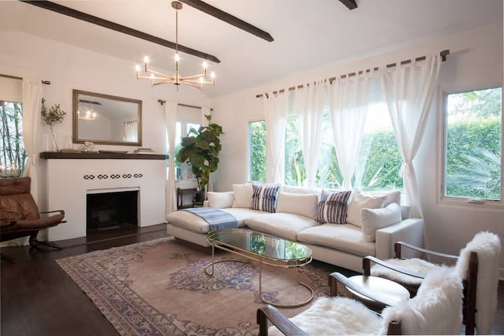 Chic WeHo 3/2 Spanish Revival with 1/1 Guest House