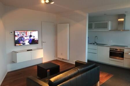 Cosy Studio /zonnig zeezicht /kijk op hinterland - Oostende - Wohnung