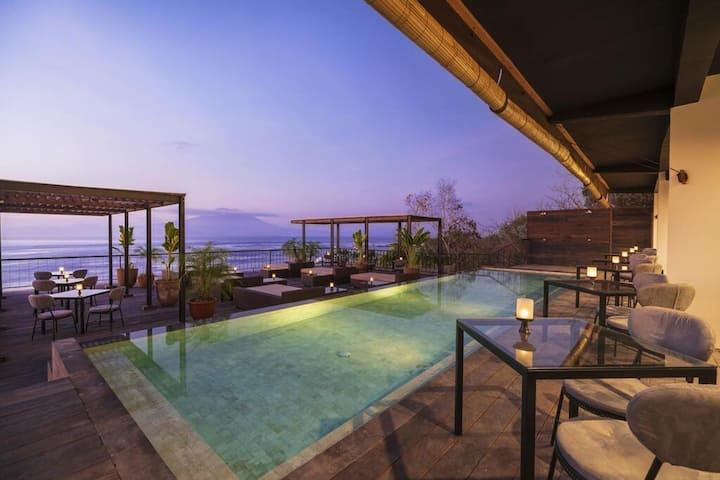 Ocean View Penida 2 Deluxe Pool Breakfast WArna