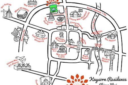Monthly rental at Kaysorn Residence - Appartement