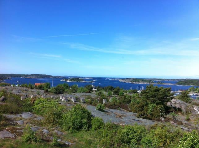 Strömstad lägenhet centralt nära hav och stad