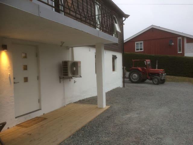 Leilighet med utsikt over Telemarkskanalen