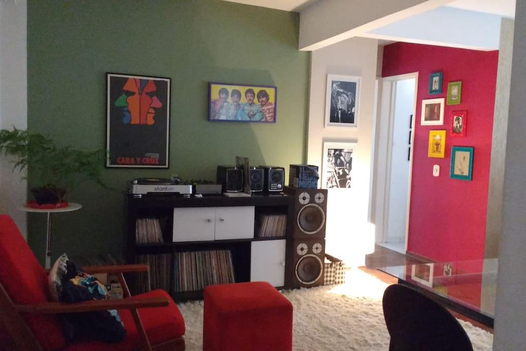 Vista corredor quartos