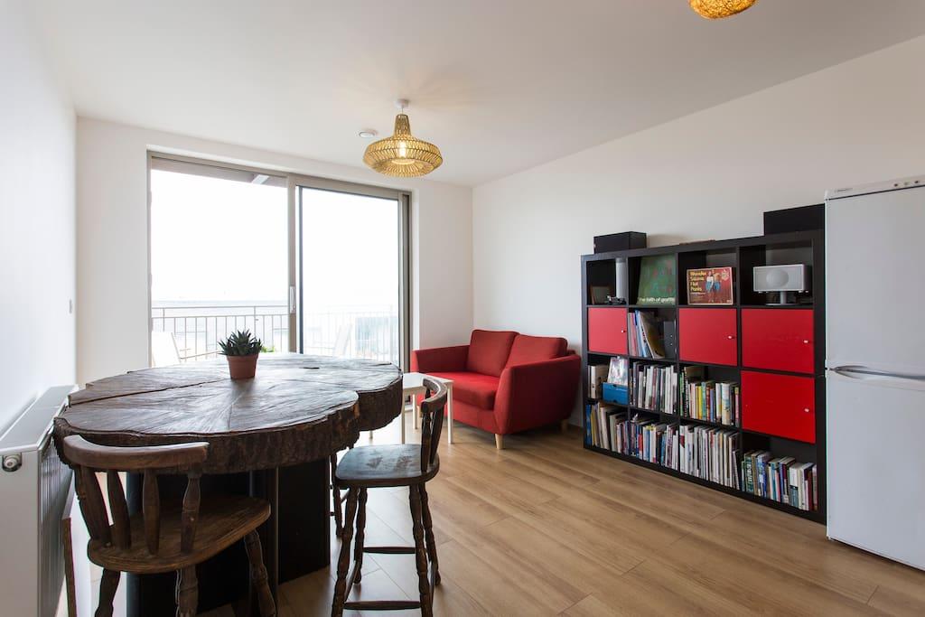 Beautiful, spacious open plan living area