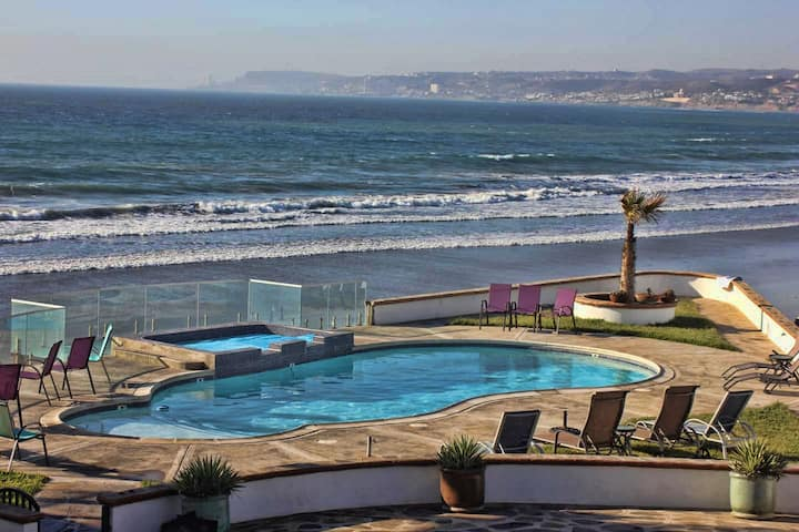 ***Casa Luna lll***Pool, jacuzzi, beach