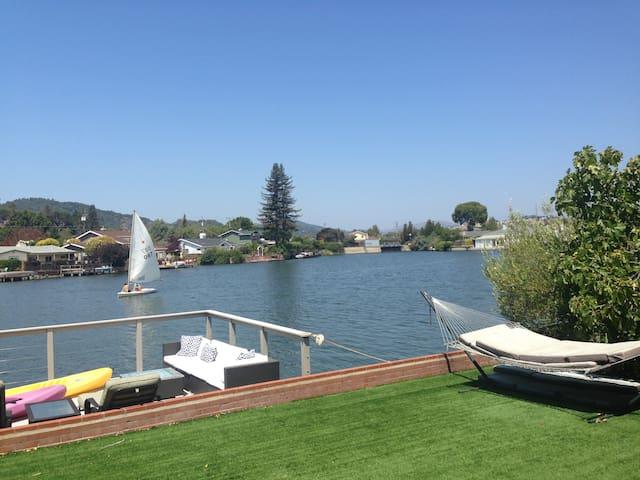 Marin County Lagoon Living