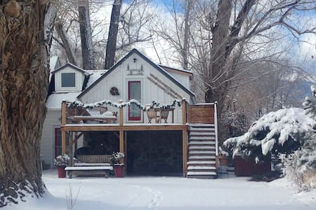 Private Tahoe COTTAGE with HOT TUB- we got SNOW! - Gardnerville - Cottage