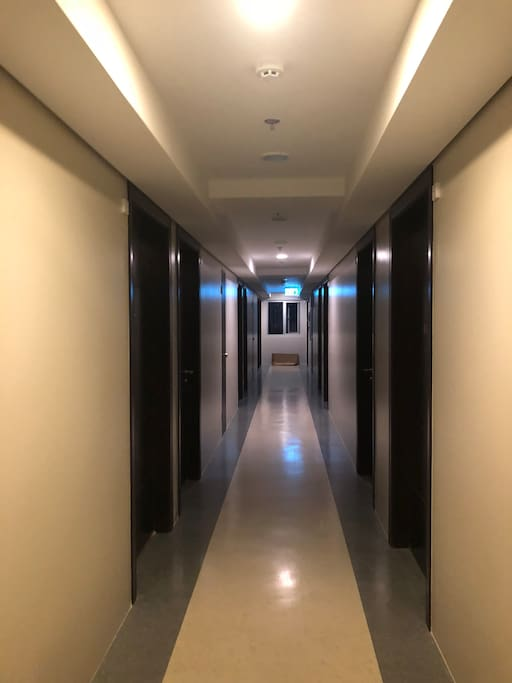 Hallway leading to the unit