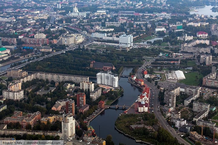 KoenigSky студия 17 этаж центр  Иммануил Кант - Kaliningrad - 公寓