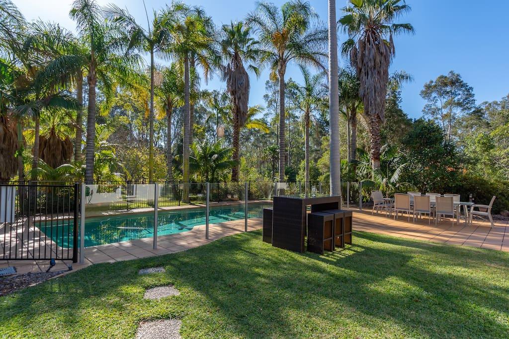 Pool/Entertainment Area