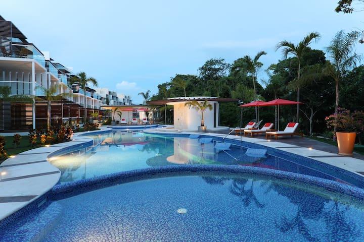 Hermoso Penthouse 3 hb dentro de Bahia Principe