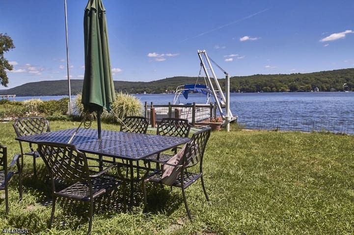 Magical Cabin on Greenwood Lake - West Milford - Huis