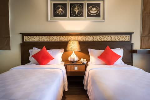 Deluxe Twin with breakfast @ Tok Aman Bali Beach Resort