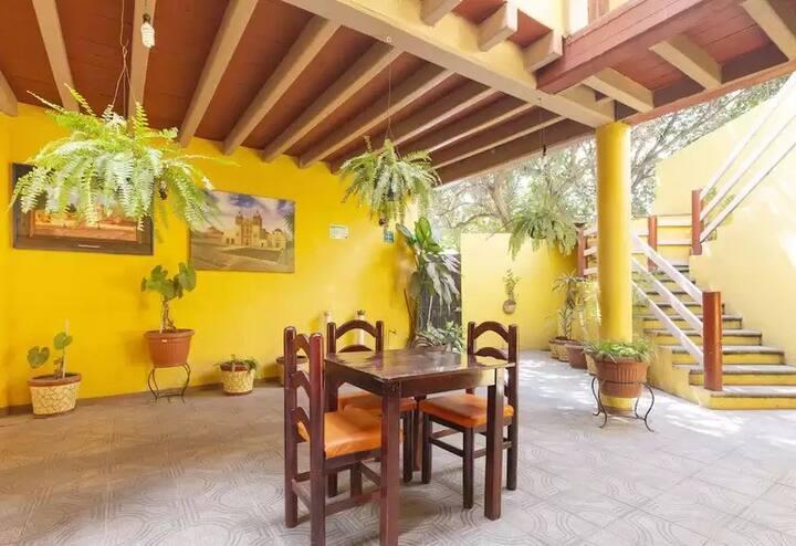 Habitación Oaxaca 1, limpieza y atención.