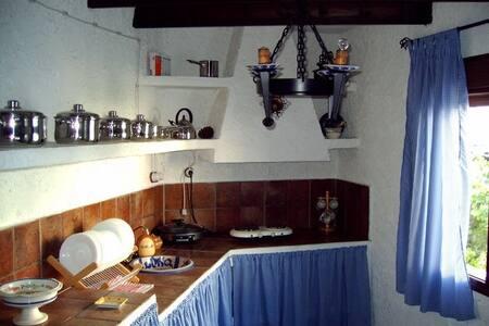 CASA TIPICA DE PUEBLO ANDALUZ CON ENCANTO - El Borge - บ้าน