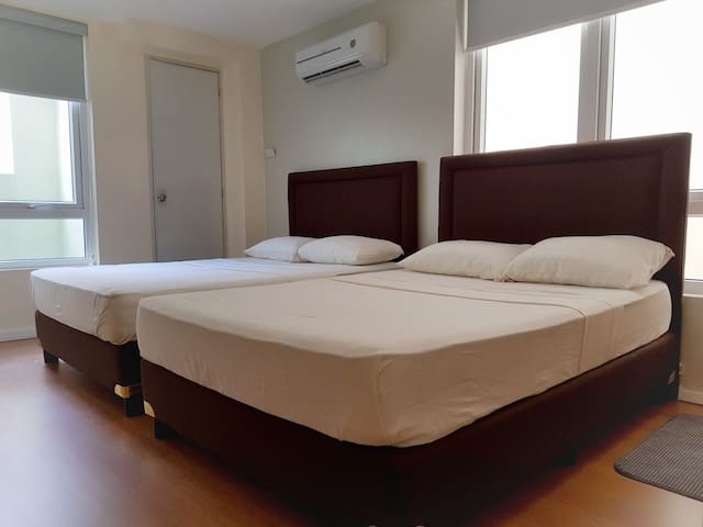 Room for four in San Juan City  greenhills