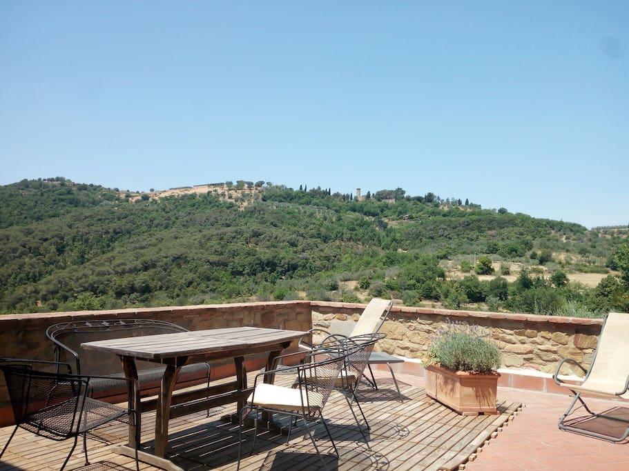 terrazzo panoramico, Panoramic terrace...