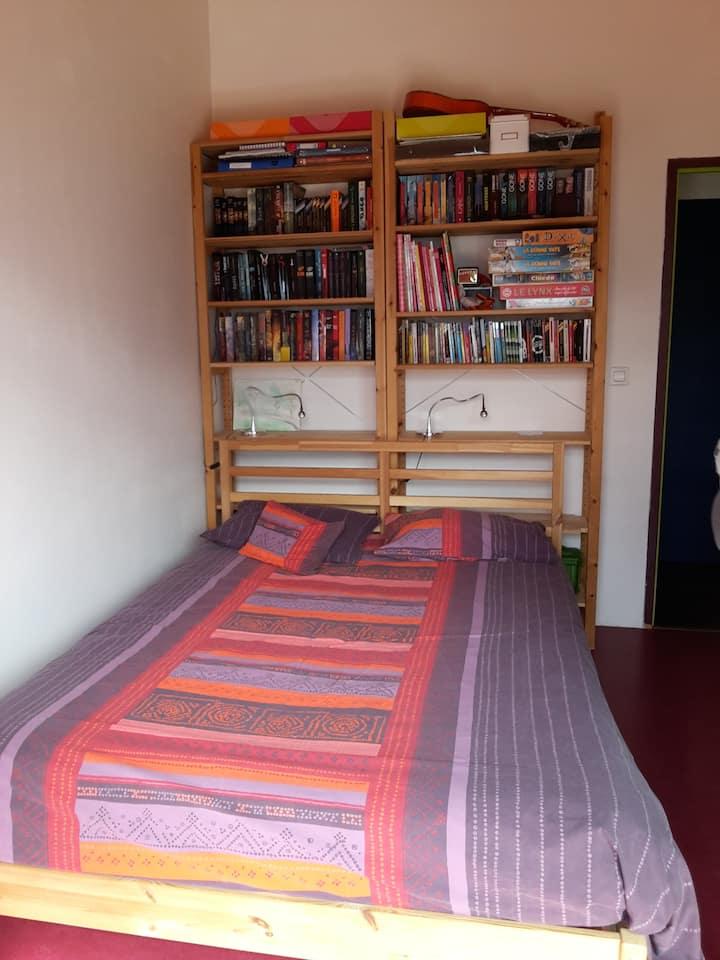 Chambre privée + sdb  Airbnb+ terrasse au calme