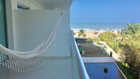 ♥MORROS ULTRA♥ GORGEOUS SEAVIEW/POOL/WIFI/GYM