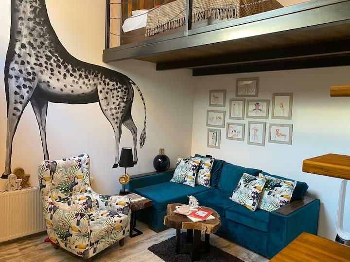 Niko Pirosmani Luxury Duplex