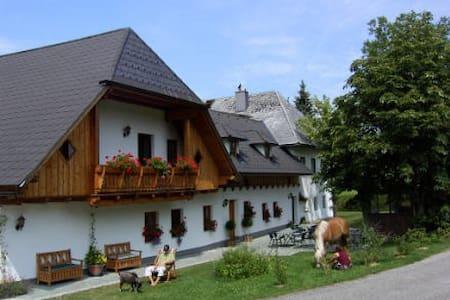 Bauernhof Vordere Viechtau Ferienwohnung Erlakogel