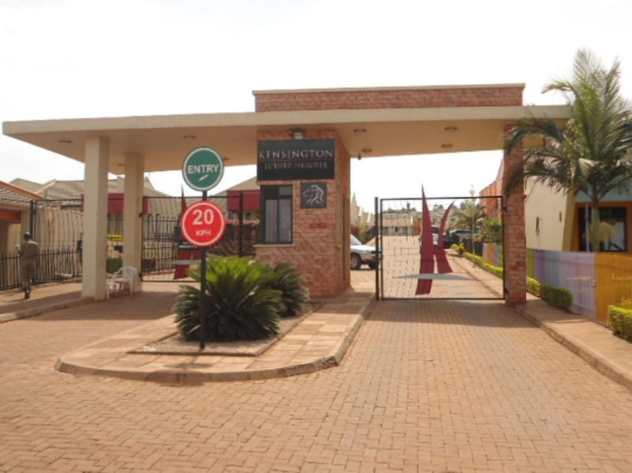 Entrance and Security