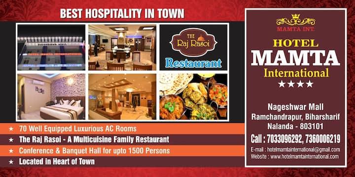 Hotel Mamta International Biharsharif Nalanda