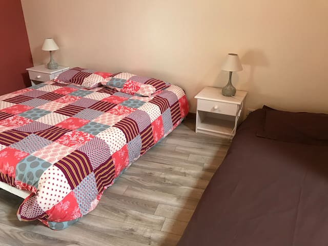 Les Petites Martinies - Chambre familiale - 3 pers