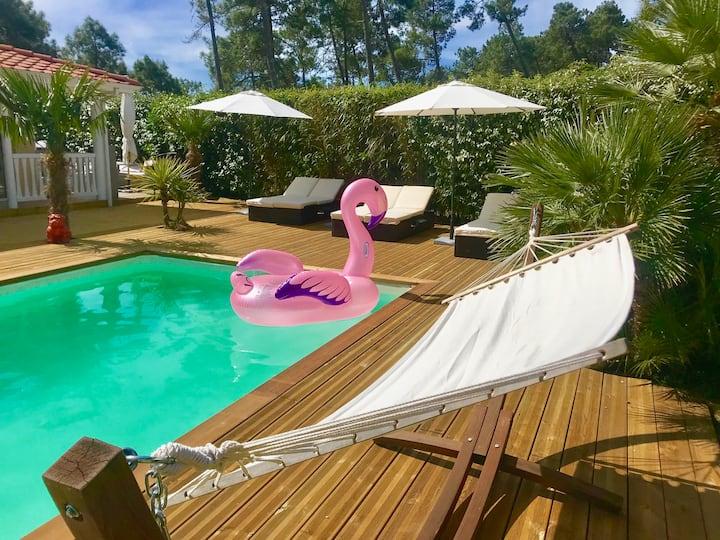 Villa NIKITA luxe et calme, golf de Lacanau océan