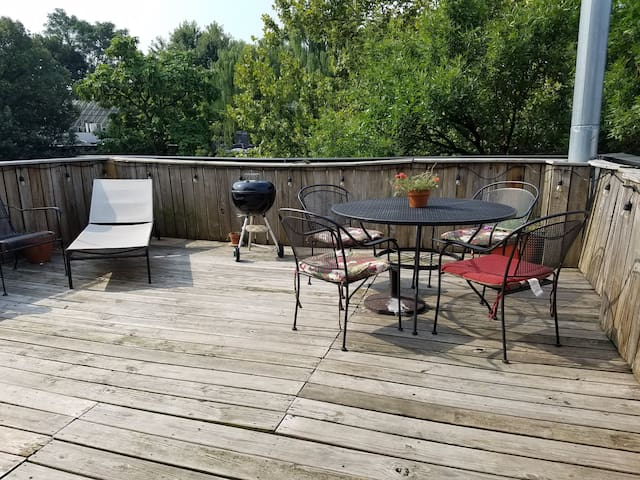 Tree Top Brooklyn - One Bedroom with roof deck