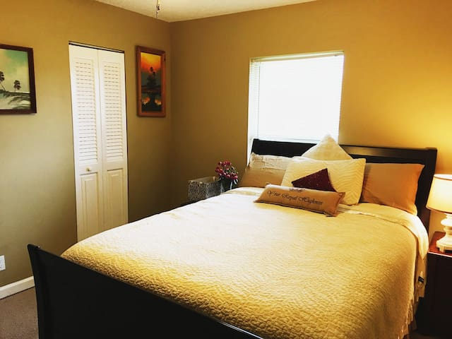 Cozy palm tree room - Lake Worth - Pis