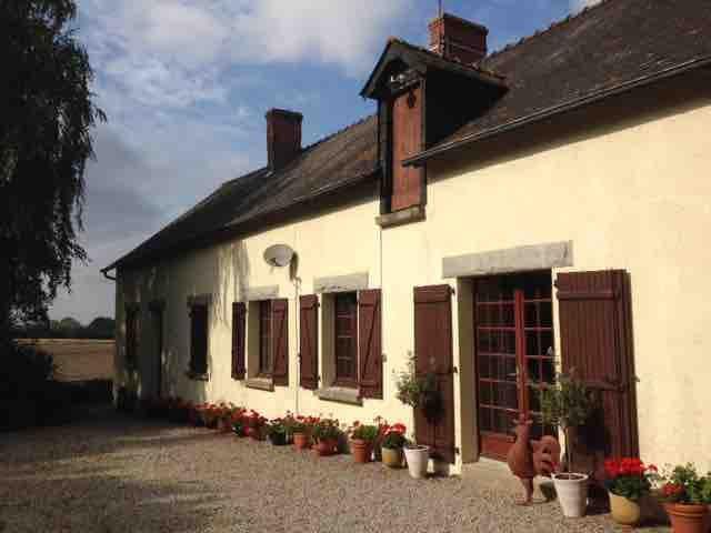 Rustic French Longere farmhouse