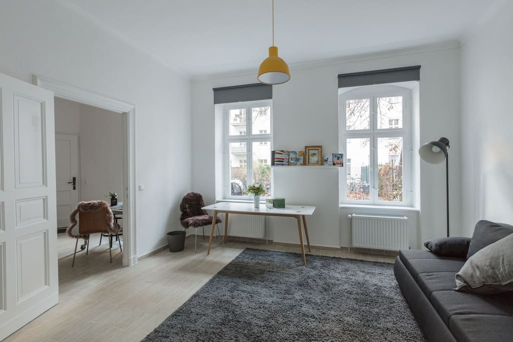 furnished multipurpose studio apartment apartments for rent in berlin berlin germany. Black Bedroom Furniture Sets. Home Design Ideas