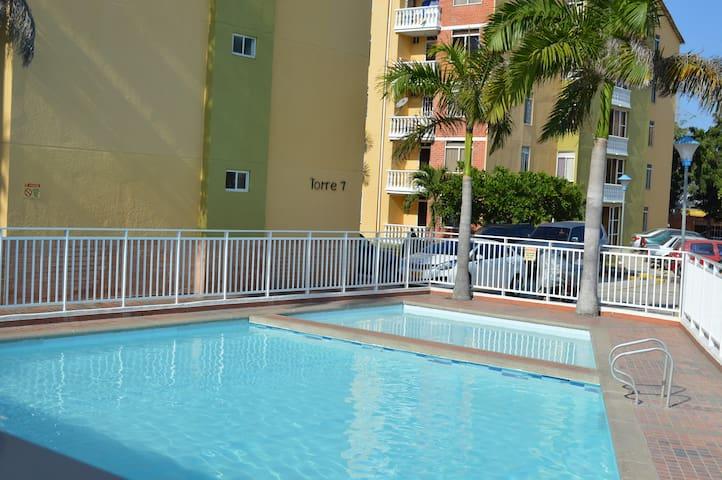 Apartamento Norte espectacular vista - Barranquilla (Distrito Especial, Industrial Y Portuario) - Flat