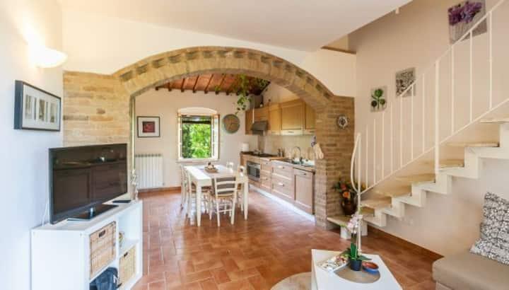 Casa relax vicino a San Gimignano