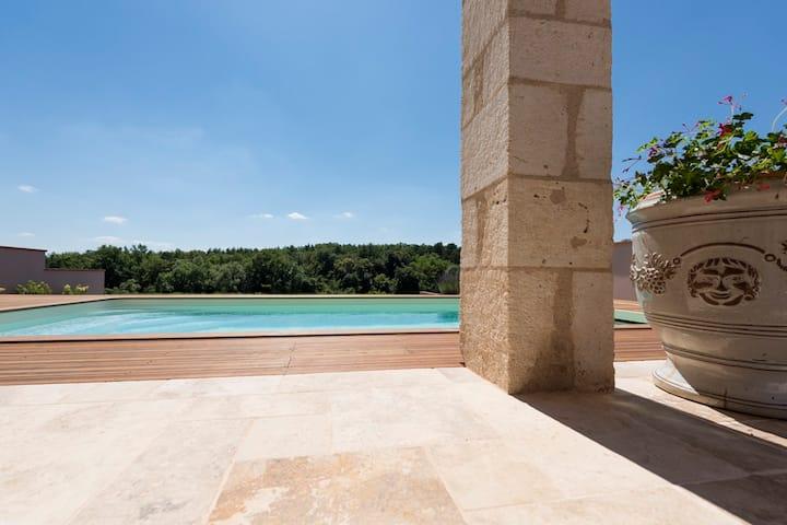 Domaine de la Durantie - Corduries 14 avec piscine
