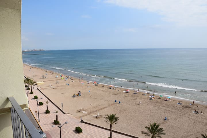 first beach line of Port Saplaya - Port Sa Platja - Apartament