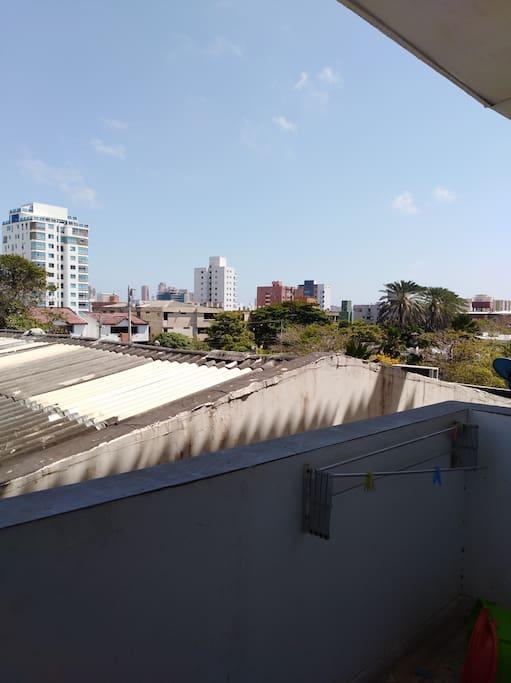 Balcón de estar.