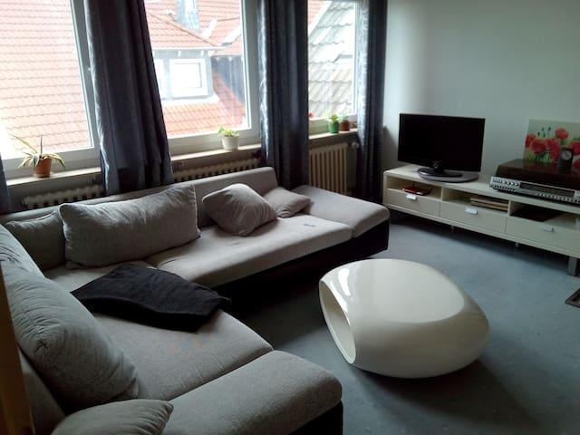 Sehr helles Zimmer 20qm im 2. OG - Wolfenbüttel - Apartamento
