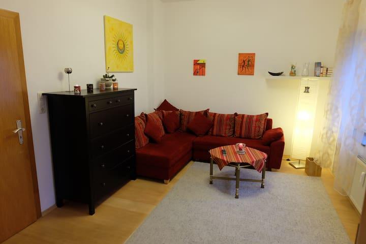 Gemütliche, ruhige Wohnung in der Altstadt - Bad Nauheim - Apartment