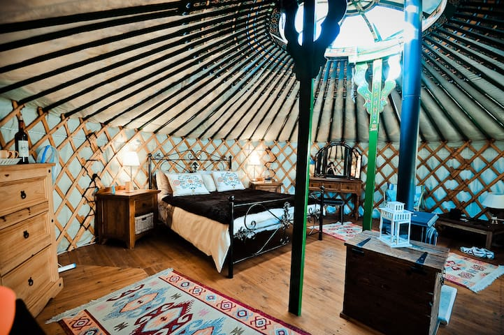Yurts in Cyprus - unique holidays