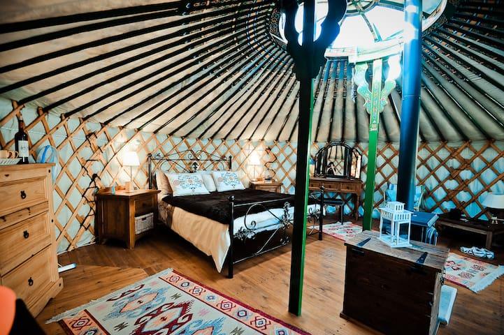 Yurts in Cyprus - unique holidays - Sarama - Yurt